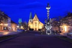 Ιστορικό κέντρο σε Rakovnik Στοκ Εικόνες