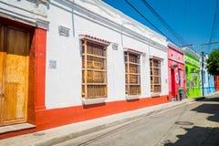 Ιστορικό κέντρο σε Santa Marta, καραϊβική πόλη Στοκ Εικόνα