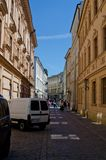 Ιστορικό κέντρο της Κρακοβίας - της Πολωνίας ` s, μια πόλη με την αρχαία αρχιτεκτονική Στοκ φωτογραφία με δικαίωμα ελεύθερης χρήσης