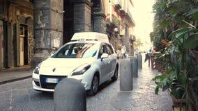 Ιστορικό κέντρο της Νάπολης, ιερός και ο βέβηλος απόθεμα βίντεο