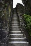 Ιστορικό κλιμακοστάσιο στο βράχο Γερμανία Στοκ Φωτογραφίες