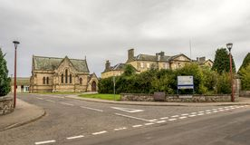 Ιστορικό κοινοτικό νοσοκομείο RNI στη Iνβερνές, Σκωτία στοκ εικόνες