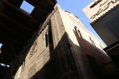 Ιστορικό κτήριο παλαιό Κάιρο, Αίγυπτος Στοκ εικόνες με δικαίωμα ελεύθερης χρήσης
