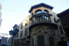 Ιστορικό κτήριο παλαιό Κάιρο, Αίγυπτος Στοκ φωτογραφίες με δικαίωμα ελεύθερης χρήσης