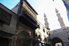 Ιστορικό κτήριο παλαιό Κάιρο, Αίγυπτος Στοκ Φωτογραφίες