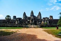Ιστορικό κτήριο σε Angkor wat Thom Καμπότζη Στοκ εικόνα με δικαίωμα ελεύθερης χρήσης