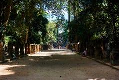 Ιστορικό κτήριο σε Angkor wat Thom Καμπότζη Στοκ Φωτογραφίες