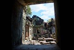 Ιστορικό κτήριο σε Angkor wat Thom Καμπότζη Στοκ Εικόνες