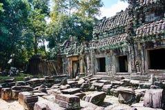 Ιστορικό κτήριο σε Angkor wat Thom Καμπότζη Στοκ φωτογραφία με δικαίωμα ελεύθερης χρήσης