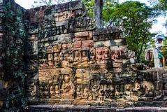 Ιστορικό κτήριο σε Angkor wat Thom Καμπότζη Στοκ εικόνες με δικαίωμα ελεύθερης χρήσης