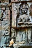 Ιστορικό κτήριο σε Angkor wat Thom Καμπότζη Στοκ Εικόνα