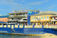 Ιστορικό κτήριο στην πόλη του George, νησιά Κέιμαν στοκ εικόνες με δικαίωμα ελεύθερης χρήσης
