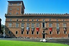 Ιστορικό κτήριο στη Ρώμη, Ιταλία Στοκ εικόνες με δικαίωμα ελεύθερης χρήσης