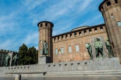 Ιστορικό κτήριο στο Τορίνο Στοκ φωτογραφία με δικαίωμα ελεύθερης χρήσης
