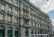 Ιστορικό κτήριο της Ζυρίχης Ελβετία Στοκ Φωτογραφίες