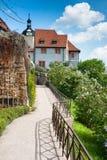 Ιστορικό μέγαρο σε Dornburg Στοκ Εικόνες