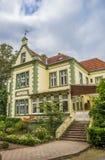 Ιστορικό μέγαρο Muhlenhof στο κέντρο Telgte Στοκ Φωτογραφίες