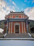 Ιστορικό μέρος περίπτερων Des Petits Jeux της στοάς Leopold ΙΙ και των heures του Σεπτεμβρίου parc de, στο κέντρο πόλεων της SPA, στοκ εικόνες