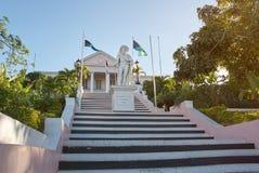 Ιστορικό μέρος τουριστών σε Nassau Μπαχάμες στοκ φωτογραφία με δικαίωμα ελεύθερης χρήσης