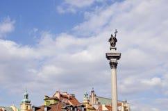 ιστορικό μνημείο Πολωνία Βαρσοβία στοκ εικόνα