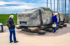 Ιστορικό μνημείο Stonehenge, Αγγλία, Μεγάλη Βρετανία Στοκ Εικόνα