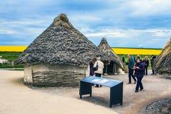 Ιστορικό μνημείο Stonehenge, Αγγλία, Μεγάλη Βρετανία Στοκ Εικόνες