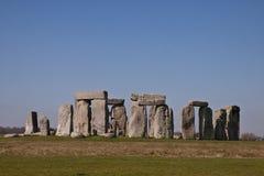 Ιστορικό μνημείο Stonehenge, Αγγλία, UK Στοκ Φωτογραφία