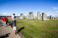 Ιστορικό μνημείο Stonehenge Στοκ Εικόνες
