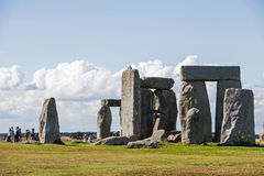 Ιστορικό μνημείο Stonehenge Στοκ φωτογραφία με δικαίωμα ελεύθερης χρήσης