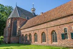 Ιστορικό μοναστήρι σε Ter Apel Στοκ Φωτογραφίες
