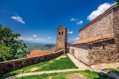 Ιστορικό μοναστήρι Nekresi στοκ φωτογραφία με δικαίωμα ελεύθερης χρήσης