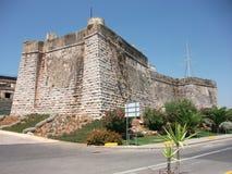 Ιστορικό να στηριχτεί του Κασκάις σε ένα ηλιόλουστο απόγευμα (Πορτογαλία) Στοκ Φωτογραφία