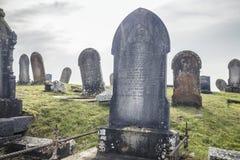 Ιστορικό νεκροταφείο στη νότια Ουαλία, UK στοκ εικόνα