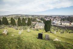 Ιστορικό νεκροταφείο στη νότια Ουαλία, UK στοκ φωτογραφίες με δικαίωμα ελεύθερης χρήσης
