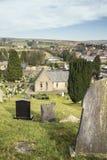 Ιστορικό νεκροταφείο στη νότια Ουαλία, UK στοκ φωτογραφία