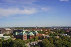 Ιστορικό νοσοκομείο - Apotek Hjartat Στοκ φωτογραφία με δικαίωμα ελεύθερης χρήσης