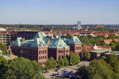 Ιστορικό νοσοκομείο - Apotek Hjartat Στοκ εικόνες με δικαίωμα ελεύθερης χρήσης
