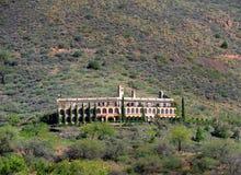 Ιστορικό ξενοδοχείο του Jerome στοκ εικόνα με δικαίωμα ελεύθερης χρήσης