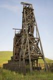 Ιστορικό ορυχείο χρυσού στο victor Κολοράντο Στοκ Εικόνα