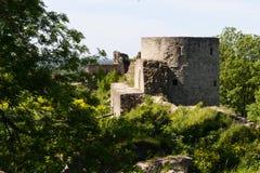 Ιστορικό οχυρό Koporye φρουρίων πετρών Στοκ φωτογραφίες με δικαίωμα ελεύθερης χρήσης