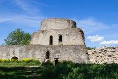Ιστορικό οχυρό Koporye φρουρίων πετρών Στοκ Εικόνες