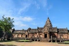 Ιστορικό πάρκο βαθμίδων Hin Phanom Prasat Στοκ φωτογραφία με δικαίωμα ελεύθερης χρήσης