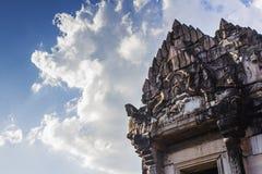 Ιστορικό πάρκο Phimai, μέρος του αρχαίου παλατιού στοκ φωτογραφία με δικαίωμα ελεύθερης χρήσης