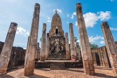 Ιστορικό πάρκο Si Satchanalai στην Ταϊλάνδη Στοκ Εικόνα