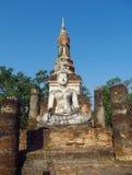 Ιστορικό πάρκο Sukhothai αγαλμάτων του Βούδα στην Ταϊλάνδη Στοκ φωτογραφία με δικαίωμα ελεύθερης χρήσης