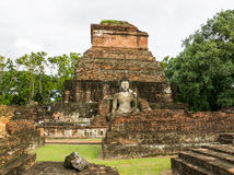 Ιστορικό πάρκο Sukhothai, Ταϊλάνδη, παγκόσμια κληρονομιά στοκ φωτογραφία με δικαίωμα ελεύθερης χρήσης