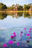 Ιστορικό πάρκο Sukhothai, της Ταϊλάνδης Στοκ Εικόνες