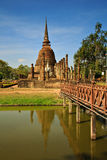 Ιστορικό πάρκο Sukhothai, της Ταϊλάνδης Στοκ Εικόνα