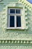 ιστορικό παράθυρο σπιτιών στοκ εικόνα με δικαίωμα ελεύθερης χρήσης