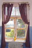 ιστορικό παράθυρο φέουδ&ome Στοκ Εικόνες